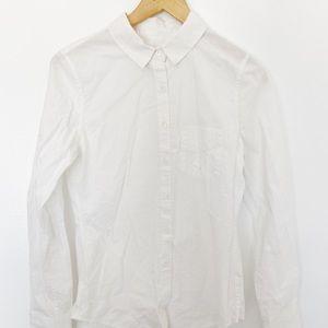 Band of Outsiders Long Sleeve White Shirt SzS
